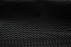 Textura da etiqueta da fibra do carbono Material preto luxuoso Imagens de Stock