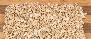 Textura da farinha de aveia Foto de Stock