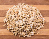 Textura da farinha de aveia Fotografia de Stock
