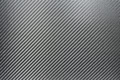 Textura da fibra de prata do carbono Fotografia de Stock
