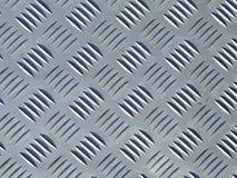 Textura da folha da placa de metal Foto de Stock