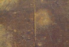 Textura da folha de metal oxidada Fotografia de Stock
