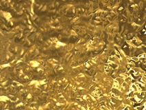 Textura da folha de ouro Foto de Stock