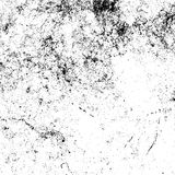 Textura da folha de prova da aflição ilustração do vetor