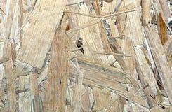 Textura da folha OSB do material de construção Fotos de Stock Royalty Free