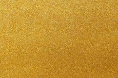 Textura da folha ou do metal de ouro Fundo metálico abstrato imagens de stock royalty free
