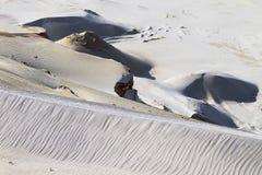 Textura da formação da areia fotos de stock royalty free