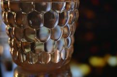 Textura da garrafa Fotografia de Stock