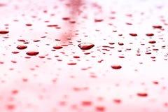 Textura da gota de água Imagens de Stock