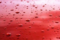 Textura da gota de água Imagem de Stock Royalty Free