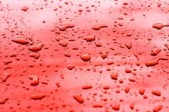 Textura da gota de água Fotos de Stock Royalty Free