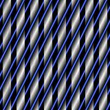Textura da grade abstrata em um fundo preto ilustração royalty free