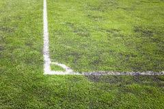 Textura da grama verde no campo de futebol foto de stock royalty free