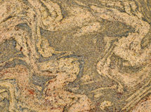 Textura da laje da rocha de Migmatite Imagens de Stock Royalty Free
