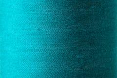 Textura da linha ciana no carretel Imagens de Stock
