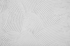 Textura da linha do arco da curvatura, fundo áspero do branco da crista Fotos de Stock