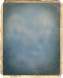 Textura da lona do frame da foto do vintage Fotografia de Stock