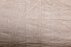Textura da lona usada Foto de Stock Royalty Free