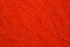 Textura da lona vermelha Fotografia de Stock Royalty Free