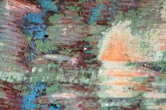Textura da madeira colorida Imagem de Stock