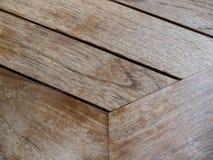 Textura da madeira da mesa de jantar Fotografia de Stock Royalty Free