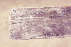 Textura da madeira da pá do vintage Foto de Stock