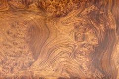 Textura da madeira da teca do ouro Fotos de Stock