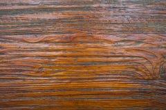 Textura da madeira de Brown Fotos de Stock