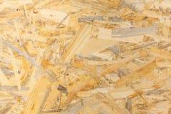 Textura da madeira de Osb Imagem de Stock Royalty Free