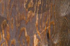 Textura da madeira natural pintada com pintura imagens de stock royalty free