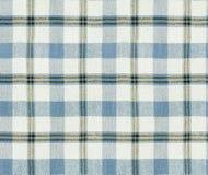 Textura da manta da tela Teste padrão sem emenda da manta/fundo quadriculado de pano de tabela Imagens de Stock Royalty Free