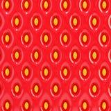 Textura da morango Imagem de Stock Royalty Free