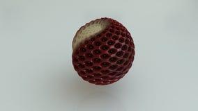 Textura da morango da esfera Fotos de Stock Royalty Free
