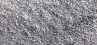 Textura da neve Foto de Stock