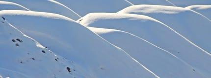 Textura da neve imagem de stock