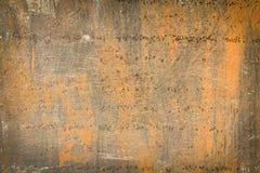 Textura da oxidação como a placa de metal imagem de stock