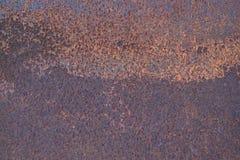 Textura da oxidação do ferro do Grunge, fundo de aço velho da corrosão fotos de stock