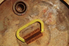 Textura da oxidação do metal Imagem de Stock Royalty Free