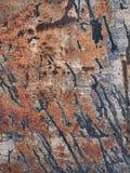Textura da oxidação do metal, fundo abstrato do grunge fotografia de stock royalty free