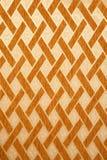 Textura da parede amarela com o ornamento marrom da telha ilustração stock