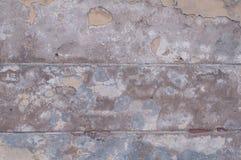 Textura da parede amarela mofado do estuque Imagem de Stock Royalty Free
