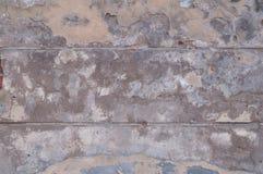 Textura da parede amarela mofado do estuque Imagem de Stock