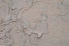 Textura da parede com pintura e quebras da casca fotografia de stock