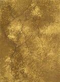 Textura da parede com pontos do ouro Fotos de Stock