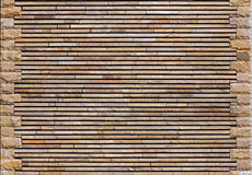 Textura da parede da pedra decorativa Fotografia de Stock Royalty Free