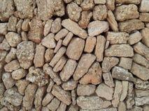 Textura da parede da rocha Foto de Stock