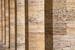 Textura da parede de Brown Imagens de Stock Royalty Free