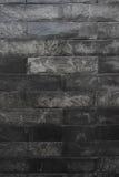Textura da parede de mármore preta Foto de Stock