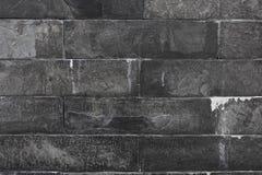 Textura da parede de mármore preta Imagem de Stock
