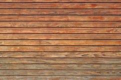Textura da parede de madeira Foto de Stock Royalty Free